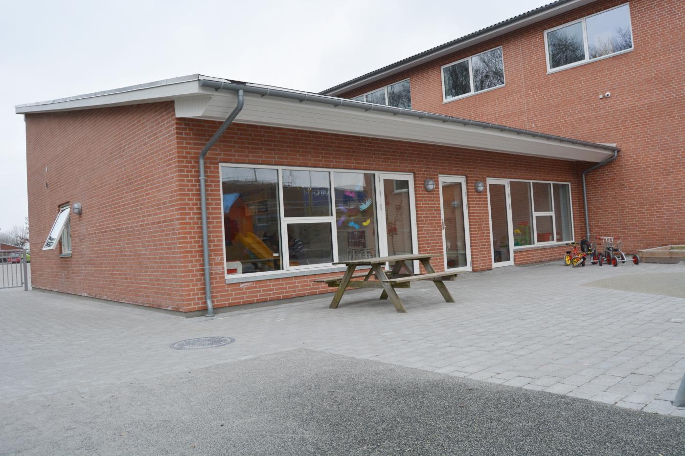 Roskilde Børnehave bygningen